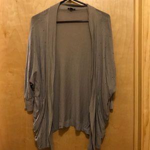 Express light weight quarter sleeve cardigan